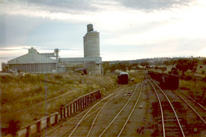An early moring shot of Merriwa yard just just before starting the shunt.