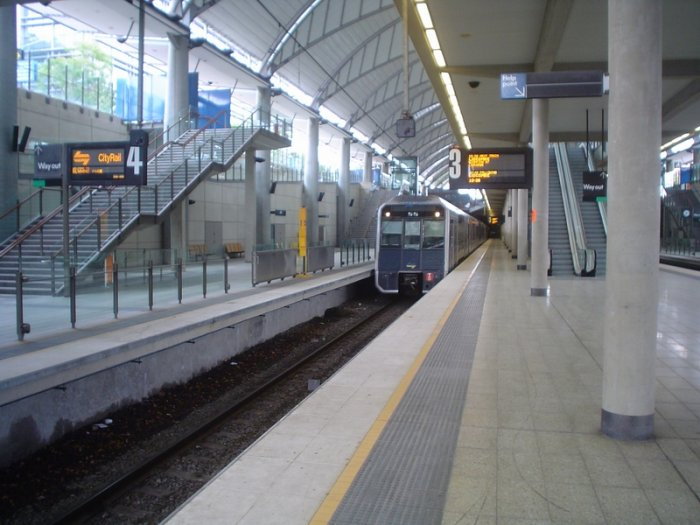 History Of Cityrail Olympic Park Line 1998